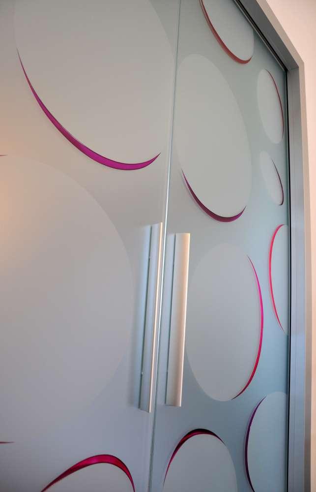 LIGHT alluminio decoro bolle color doppia scorrevole interno muro vetro acidato (12)-1000