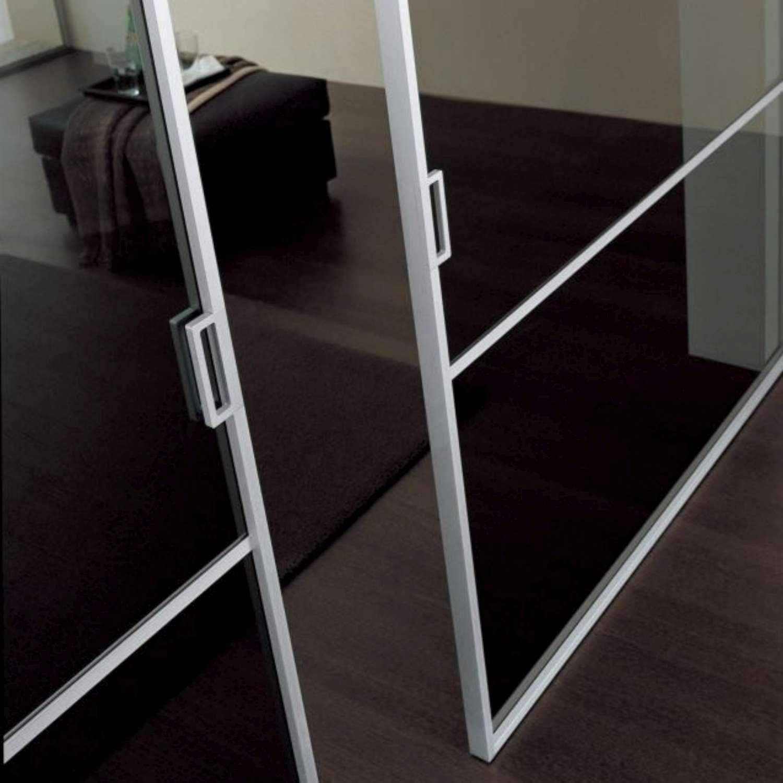 Mazzoli porte vetro porte modello mitika in alluminio for Leroy merlin profili alluminio
