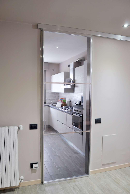 Porte In Alluminio Anodizzato mazzoli porte vetro | porta alluminio anodizzato acciaio e