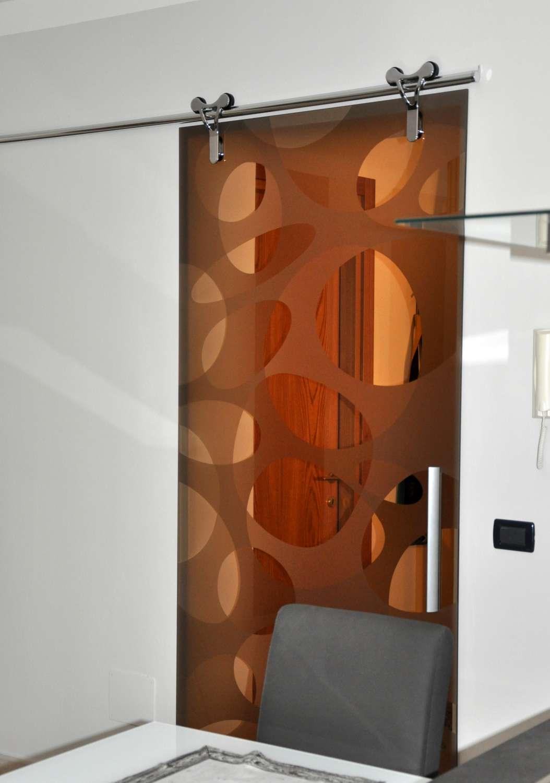 Mazzoli porte vetro porte cristallo logika scorrevoli - Porta scorrevole esterno muro prezzo ...