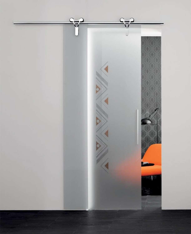 Mazzoli porte vetro porte cristallo logika scorrevoli - Porte scorrevoli esterno muro ...