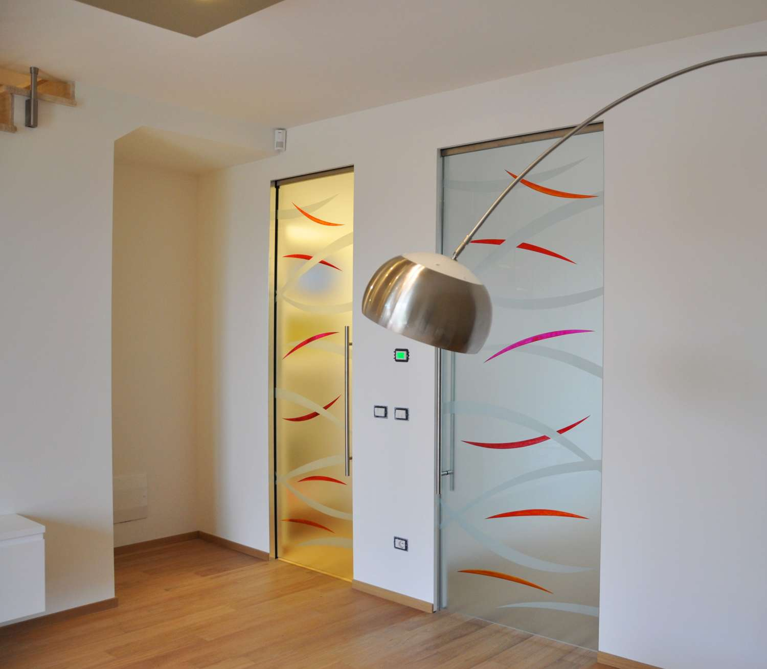 Porta Scrigno 60 Cm mazzoli glass doors | glass doors for concealed