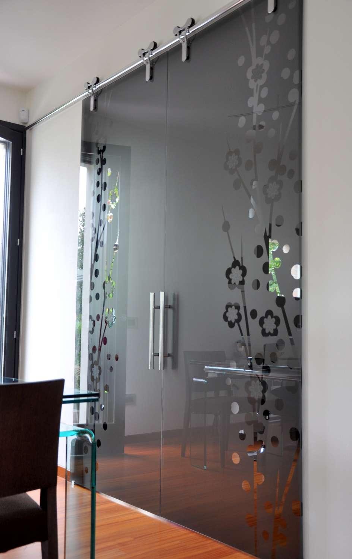 Porte vetro cristallo fumè modello Logika decoro japan (4)-1500