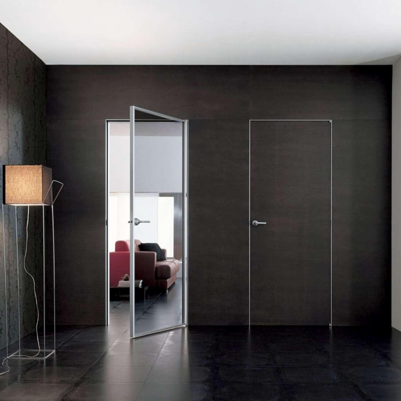 Mazzoli Glastüren | DOORS MODEL MITIKA ALUMINIUM Glas und Holz CUSTOM