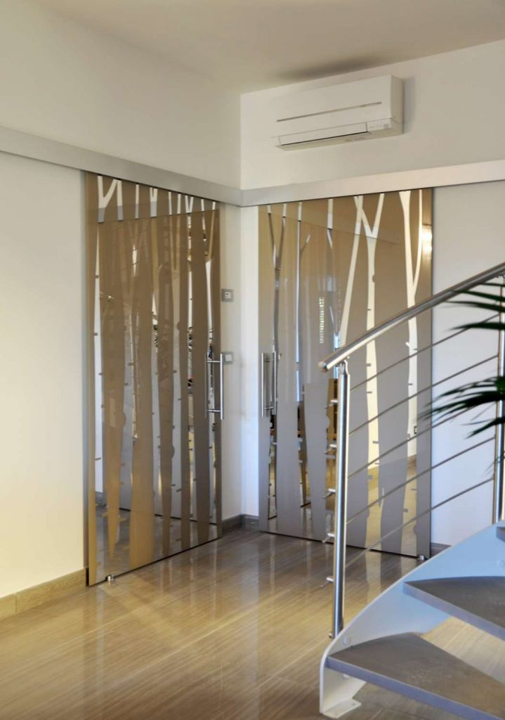 Mazzoli porte vetro soluzioni porte vetro varie e cabine - Porte scorrevoli cabine armadio ...
