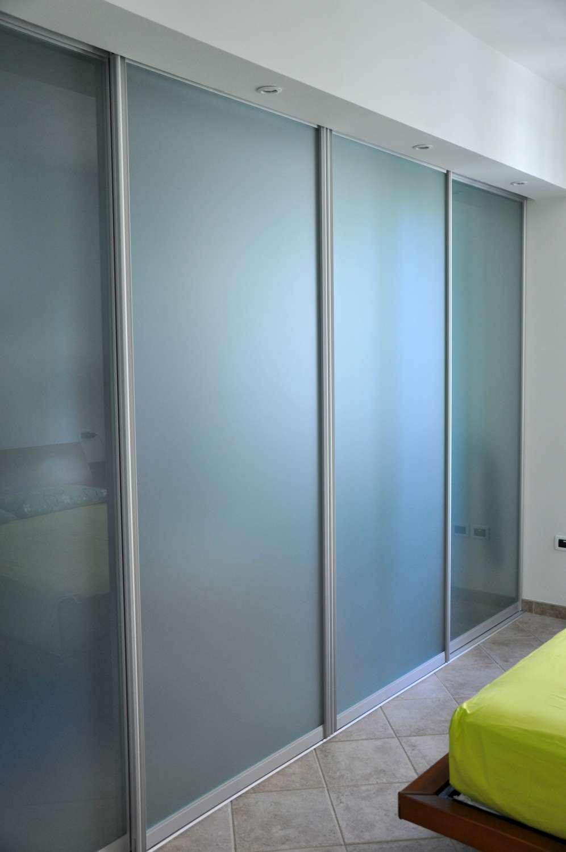 Mazzoli porte vetro soluzioni varie per porte vetro e for Porta a libro per cabina armadio