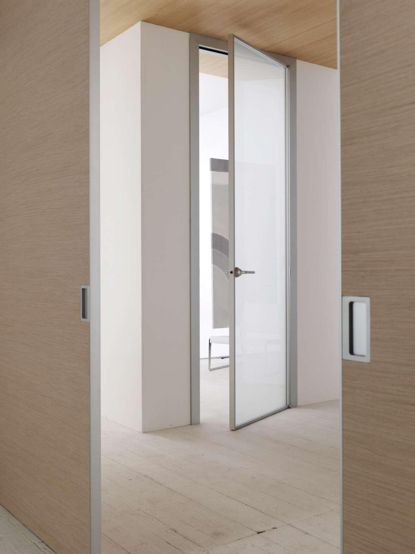 Mazzoli porte vetro porte modello mitika in alluminio - Porta rovere sbiancato ...